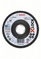 Bild på Bosch X-LOCK lamellslipskiva 40K