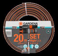 "Bild på GARDENA Comfort HighFLEX Slangset 13 mm (1/2"") 20 m 18064-20"