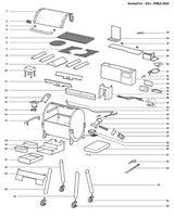 Bild på Weber® Konsol till Flavorizers EX4 Nr.11 (Single)