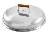 Bild på MUURIKKA Lock 44 cm Rostfritt för stekhällar