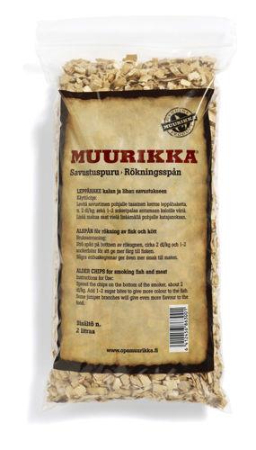 Bild på MUURIKKA Rökspån Al 2 liter